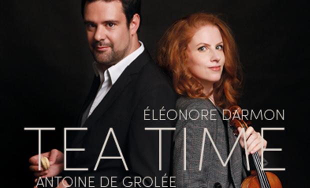 Visuel du projet Soutenez la création de notre album Tea Time audio vidéo pour Violon & Piano
