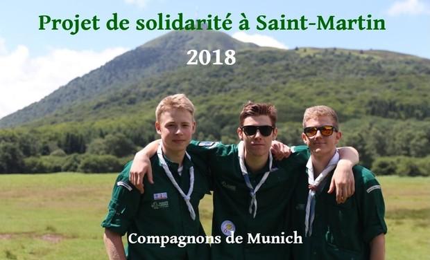 Visuel du projet Les compagnons de Munich partent à Saint Martin pour un projet de solidarité!