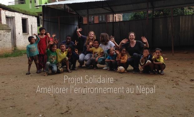 Visueel van project Les Vertueuses - Sensibilisation environnementale au Népal