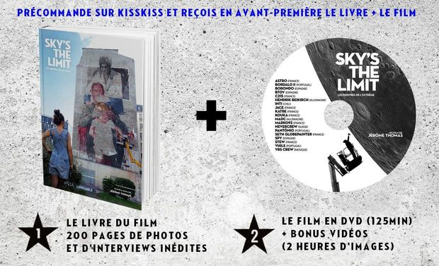 SKY'S THE LIMIT, LE LIVRE