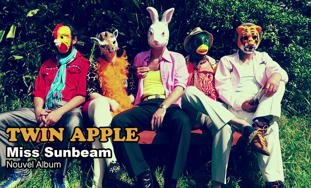 Visuel du projet Twin Apple - Miss Sunbeam - Nouvel Album