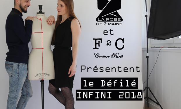 Project visual Défilé infini 2018 par La Robe de 2 Mains et F²C