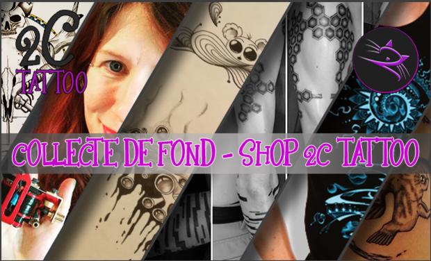 Visueel van project Shop 2C Tattoo