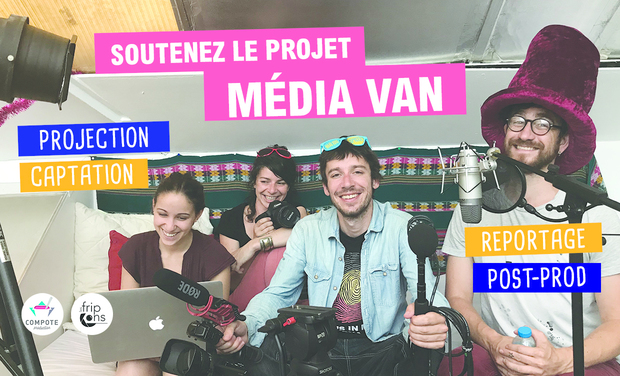 Visuel du projet Media Van / Compote Production