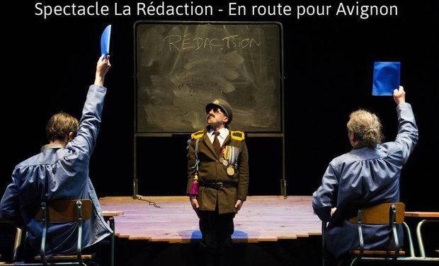 Visuel du projet Spectacle La Rédaction - En route  pour Avignon