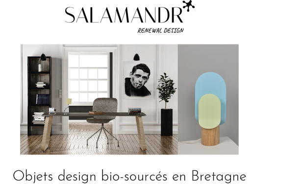 Visuel du projet Salamandr : Design bio-sourcé en Bretagne