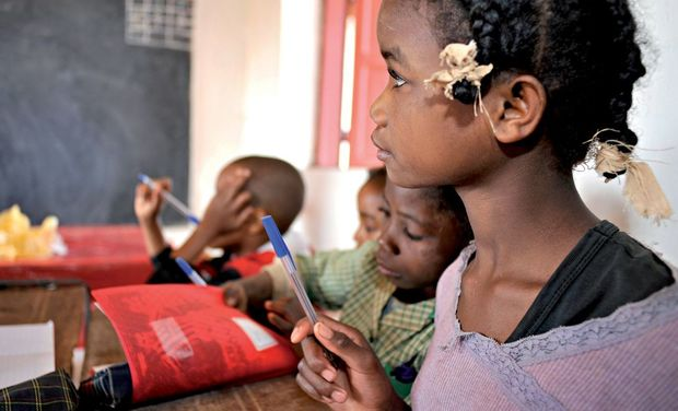Project visual Feu Claire de Castelbajac : Madagascar 2018