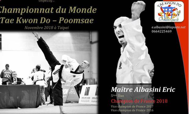 Project visual Championnat du Monde de Tae Kwon Do - Poomsae