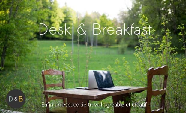 Visuel du projet Desk & Breakfast