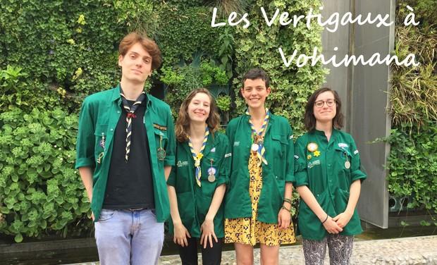 Project visual Les Vertigaux à Vohimana