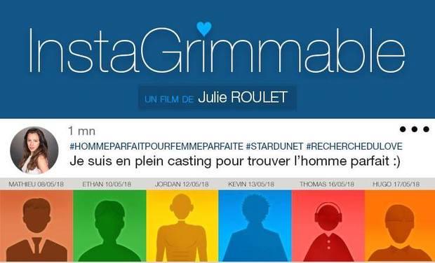 Visuel du projet InstaGrimmable - Un film de Julie Roulet
