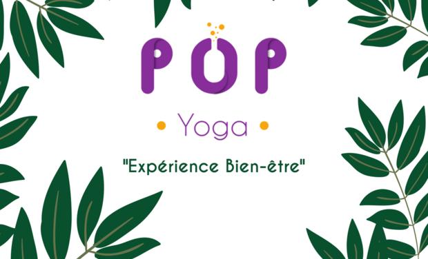 Project visual Soutenez POP Yoga !