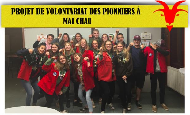 Visuel du projet Projet de volontariat des pionniers au Vietnam