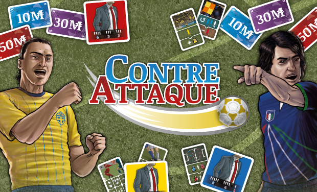 Visuel du projet Contre-Attaque - Jeu de société de foot