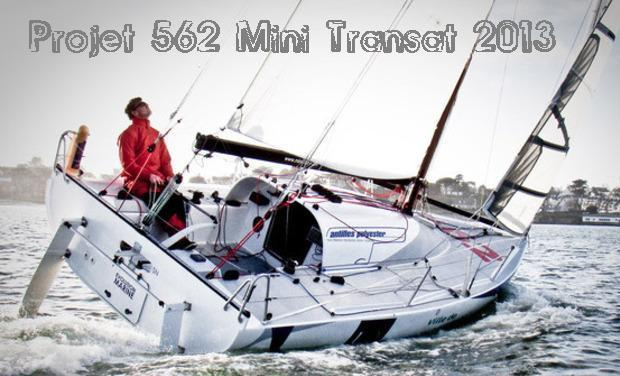 Project visual Projet 562 Mini Transat 2013