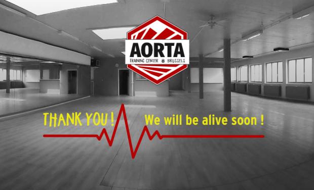 Visuel du projet Donnez vie à Aorta Training Center