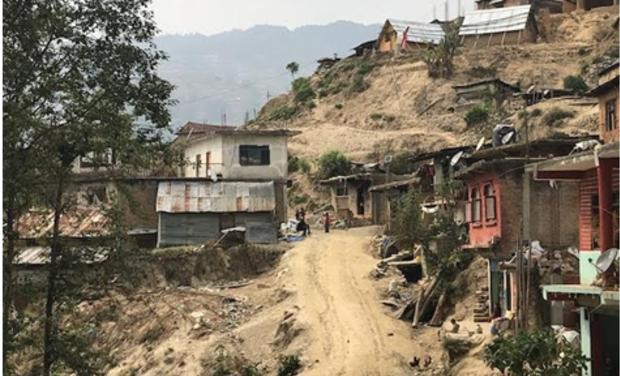Visuel du projet Uni vert le Népal avec les Scouts et Guides de France !