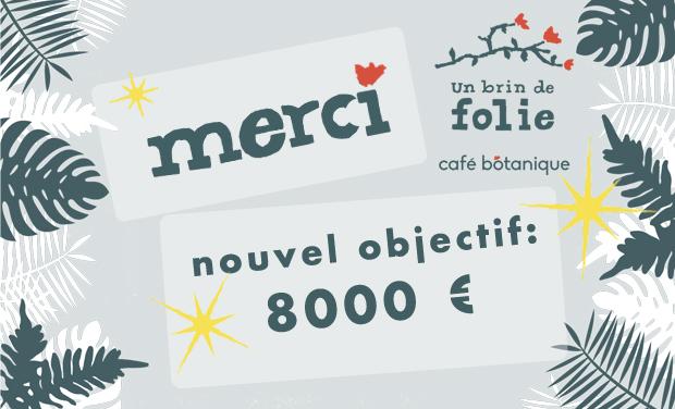 Visueel van project Un Brin De Folie, Café Botanique