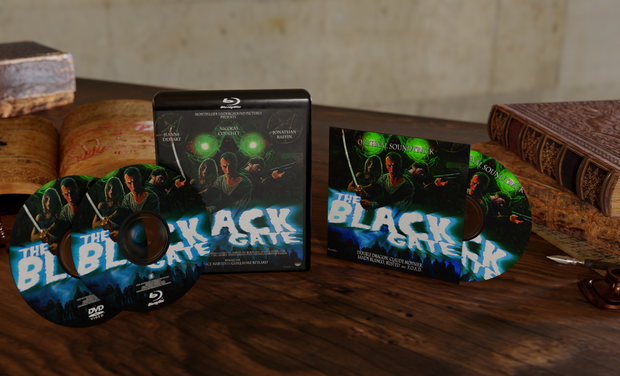 Visuel du projet The Black Gate : Vente du Combo Dvd + Blu-ray