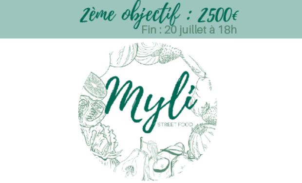 Visueel van project MYLI - Street food