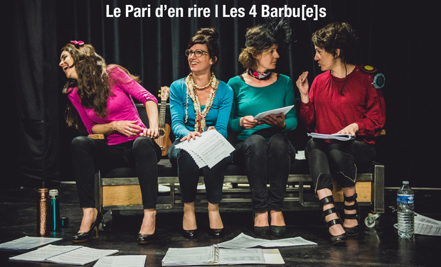Project visual Le Pari d'en rire | Les 4 Barbu[e]s