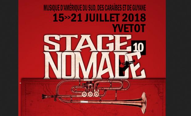 Visuel du projet Stage et festival Nomade Yvetot 2018, 10ème édition