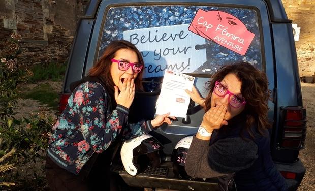 Project visual Les BAAB'zelles en route vers le Cap Fémina!