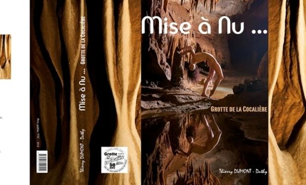 Visuel du projet Mise à Nu ... Grotte de la Cocalière