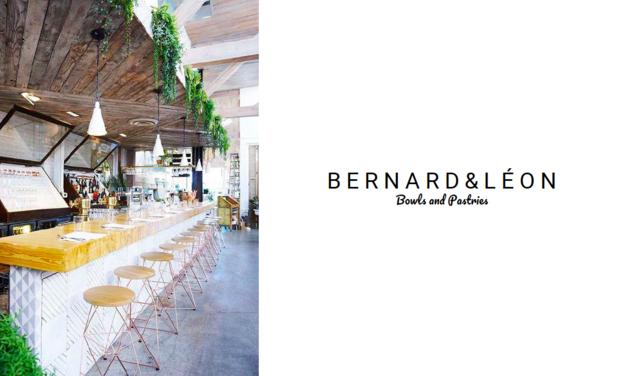 Visuel du projet Bernard & Léon - Restaurant de bowls & pastries