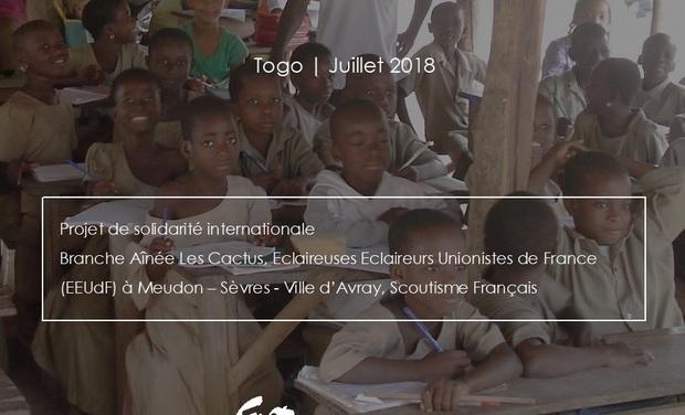 Visuel du projet Améliorer les conditions d'enseignement d'une école primaire au Togo