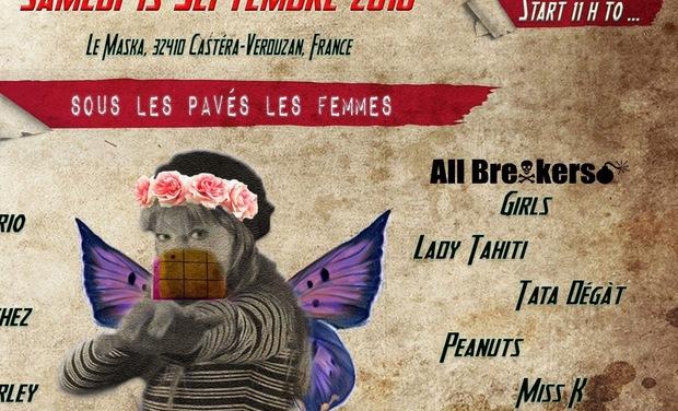 Project visual Soutenez SOUS LES PAVÉS, LES FEMMES
