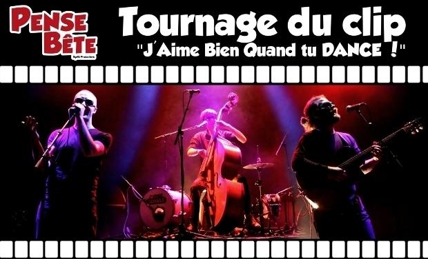"""Visuel du projet Tournage du clip """"J'Aime Bien Quand tu DANCE !"""""""