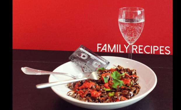 Visuel du projet Family Recipes - Le son fait maison