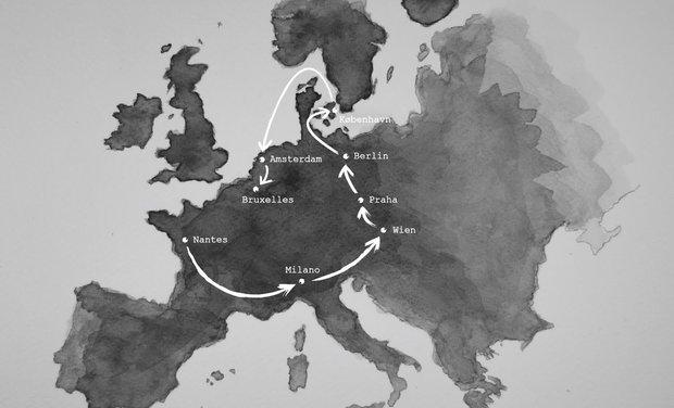Visuel du projet Voyage en Europe