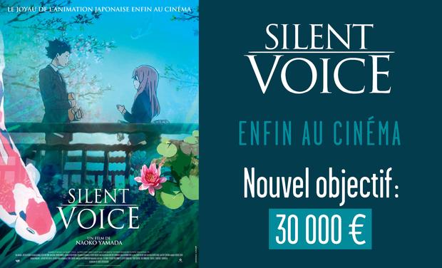 Visuel du projet SILENT VOICE : CE MAGNIFIQUE ANIME MÉRITE LE SUCCES !