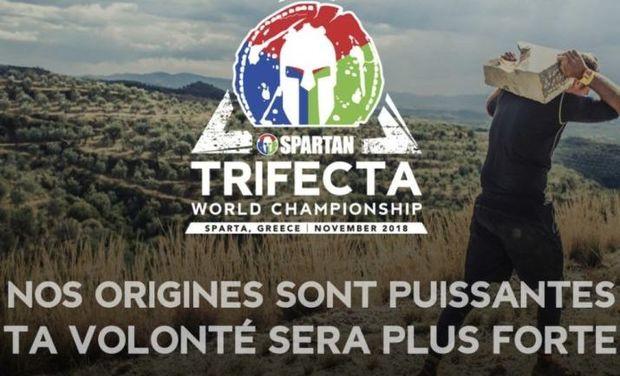 Project visual Championnats du monde spartan race trifecta à Sparte