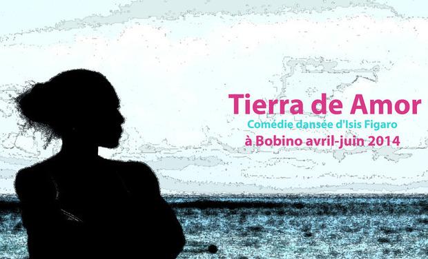 """Visuel du projet Comédie dansée:""""Tierra de Amor """", un rêve d'exilés"""
