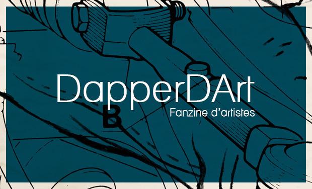 Visuel du projet DapperDArt : fanzine d'artistes
