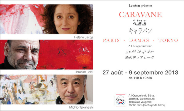 Visueel van project Caravane- Paris/Damas/Tokyo - a dialogue in paint