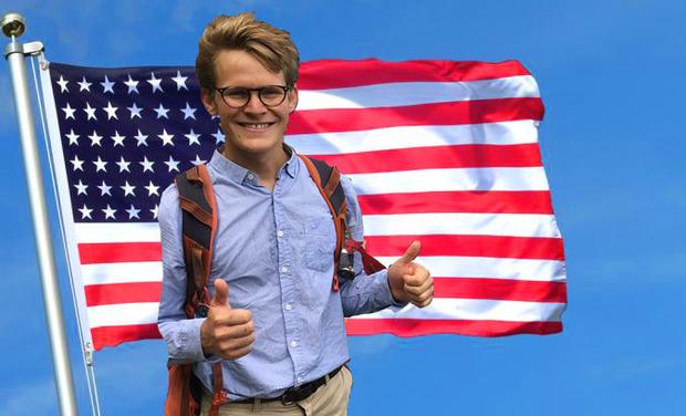 Visuel du projet Pour financer un récit de voyage: USA en auto-stop