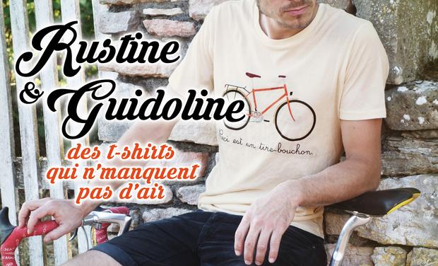 Visuel du projet Rustine & Guidoline - des t-shirts qui n'manquent pas d'air !