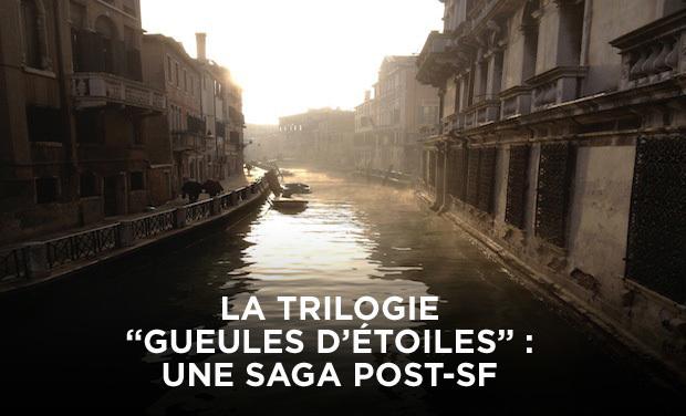 """Visuel du projet La Trilogie """"Gueules d'étoiles"""", une saga Post-SF"""