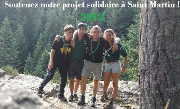 Project visual Projet Solidaire des Compastadores sur l'île de Saint-Martin