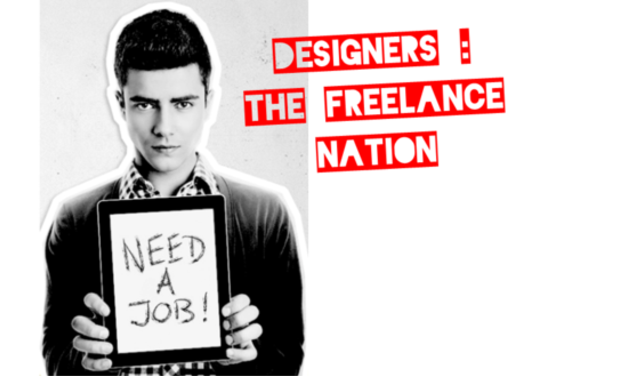 Project visual Designers: the Freelance Nation !