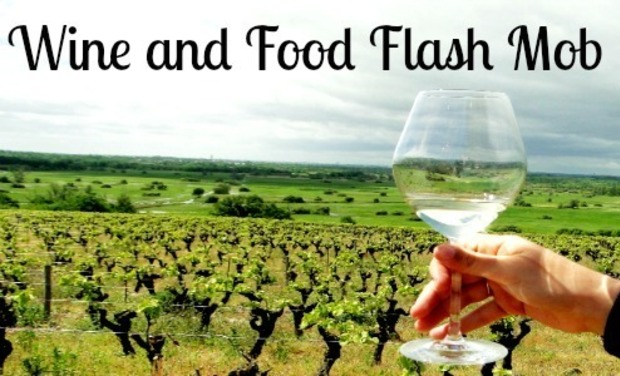 Visuel du projet Wine and Food Flash Mob