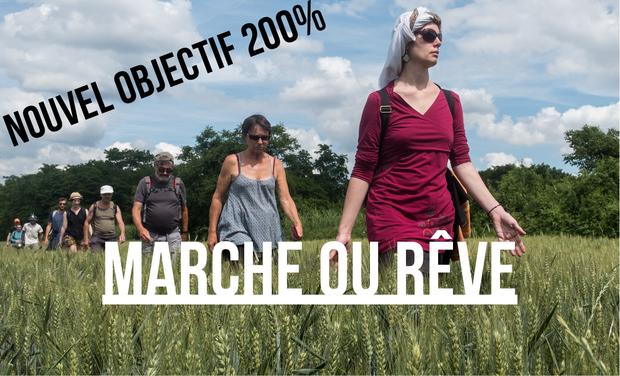 """Visuel du projet Livre photo """"Marche ou Rêve"""""""