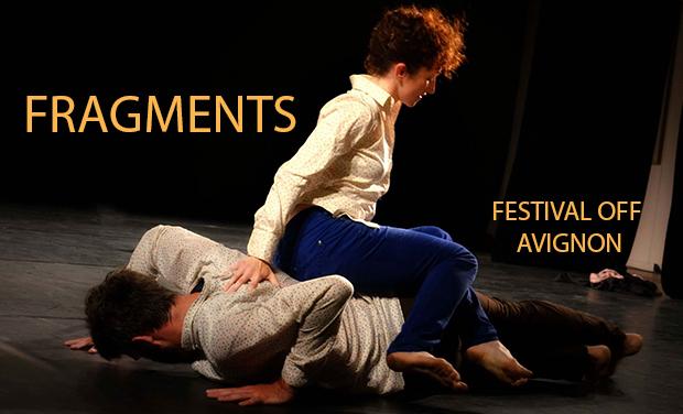 Visuel du projet FRAGMENTS au Festival OFF d'Avignon