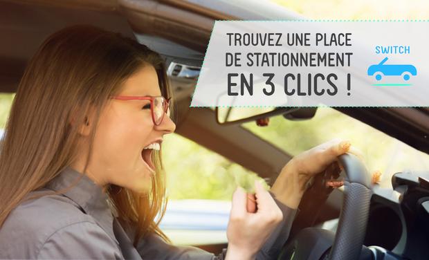 Visuel du projet Switch - Trouvez une place de stationnement en 3 clics !