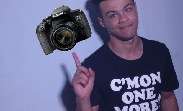 Visuel du projet Aidez le jeune photographe à obtenir une camera