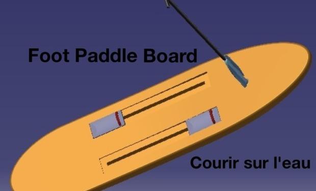Project visual footpaddleboard